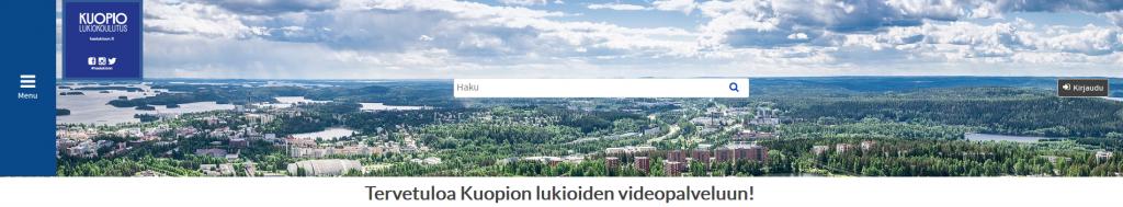 Kuopion KurssiTV on tehty oppituntitallennuksiin, videoiden hallintaa ja LIVE lähetyksiin Kuopion oppilaitoksissa.